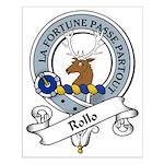 Rollo Clan Badge Small Poster