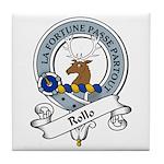 Rollo Clan Badge Tile Coaster