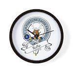 Rollo Clan Badge Wall Clock