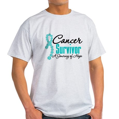 OvarianCancer SurvivorJourney Light T-Shirt