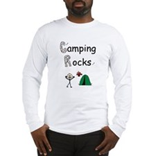 CAMPING ROCKS Long Sleeve T-Shirt