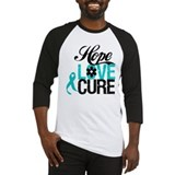 OvarianCancer HopeLoveCure Baseball Jersey