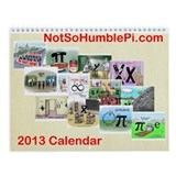 2013 Calendar - All New Mathtoons!!