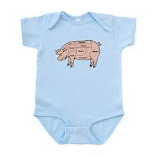 Pork Cuts 1 Infant Bodysuit