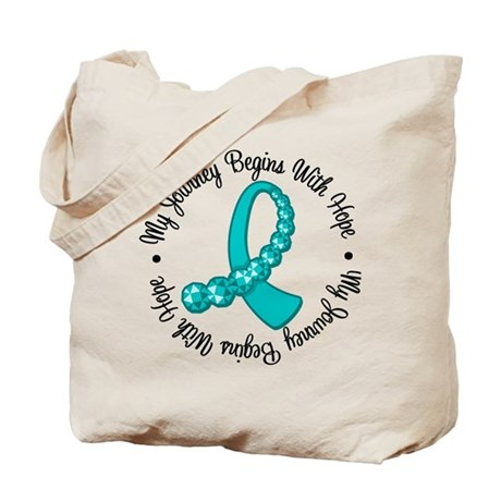 Ovarian Cancer Journey Tote Bag
