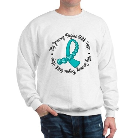 Ovarian Cancer Journey Sweatshirt