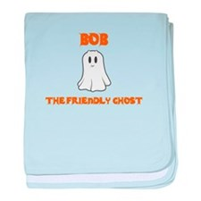 Bob the Friendly Ghost baby blanket