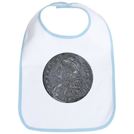 Bust Half Obverse Bib