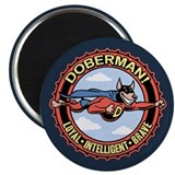 "DoberMan 2.25"" Magnet (10 pack)"