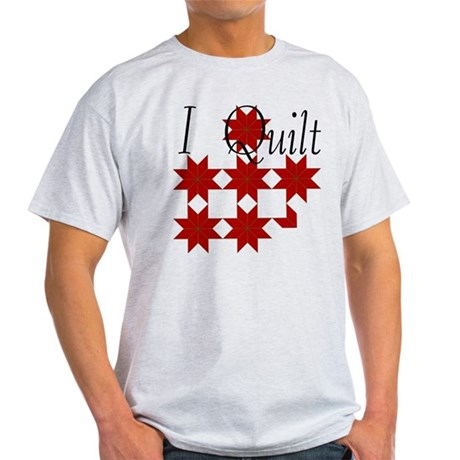 Star Quilt Pattern Light T-Shirt