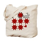 Star Quilt Pattern Tote Bag