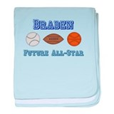 Braden - Future All-Star baby blanket