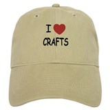 I heart crafts Baseball Cap