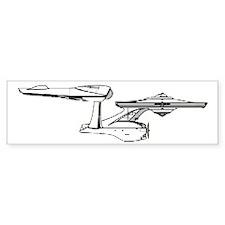 USS Enterprise Bumper Sticker