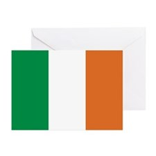 Ireland Irish Flag Greeting Cards (Pk of 10)