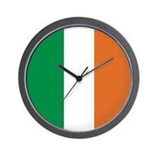 Ireland Irish Flag Wall Clock