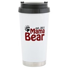 Mama Bear Est 2011 Travel Mug