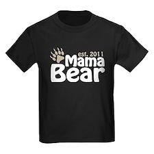 Mama Bear Est 2011 T