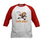Haley: Let's Play! Kids Baseball Jersey