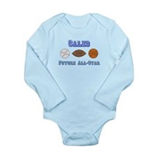 Caleb - Future All-Star Long Sleeve Infant Bodysui