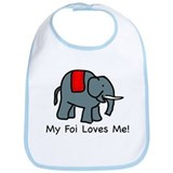 My Foi Loves Me Bib