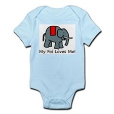My Foi Loves Me Infant Creeper