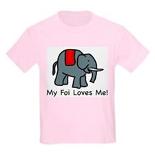 My Foi Loves Me Kids T-Shirt