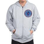 Massachusetts Free Masons Zip Hoodie