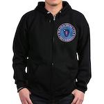 Massachusetts Free Masons Zip Hoodie (dark)