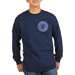 Massachusetts Free Masons Long Sleeve Dark T-Shirt