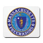 Massachusetts Free Masons Mousepad