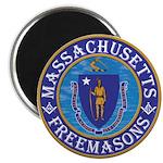 Massachusetts Free Masons Magnet