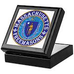 Massachusetts Free Masons Keepsake Box