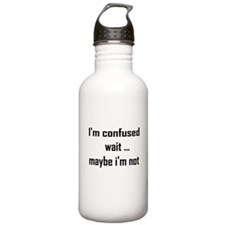 I'm confused Water Bottle