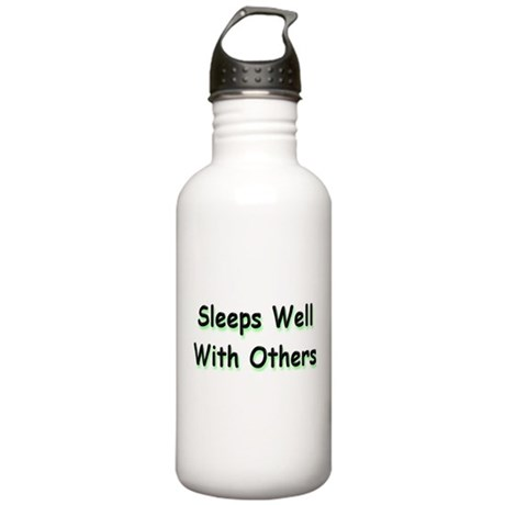 Sleeps Well Stainless Water Bottle 1.0L