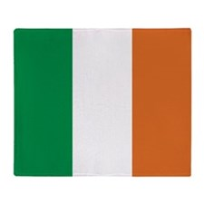 Ireland Irish Flag Throw Blanket