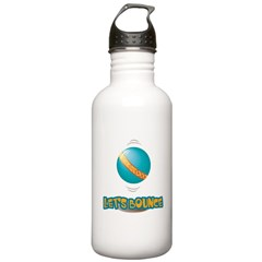 Let's Bounce Bouncing Ball Water Bottle