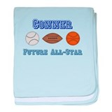 Conner - Future All-Star baby blanket