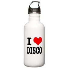 I Heart (Love) Disco Water Bottle
