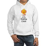 Ice Skating Chick Jumper Hoody