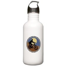 Mountain Bike Chain Design Water Bottle