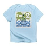 Hippo 2nd Birthday Infant T-Shirt