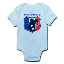 rugby france shield Onesie