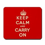 Keep calm and carry on Classic Mousepad