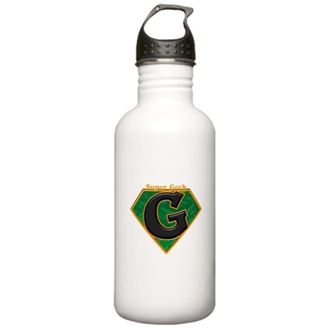 Super Geek Stainless Water Bottle 1.0L