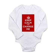 Keep Calm and Carry On Onesie Romper Suit