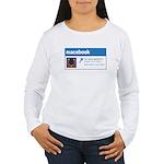 Macebook Women's Long Sleeve T-Shirt