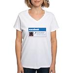 Macebook Women's V-Neck T-Shirt