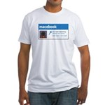 Macebook Fitted T-Shirt