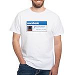 Macebook White T-Shirt